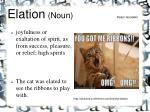 elation noun kalyn goodwin