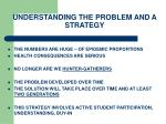 understanding the problem and a strategy