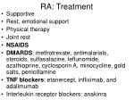 ra treatment
