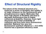 effect of structural rigidity