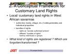 2 a conceptual framework for customary land rights