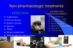non pharmacologic treatments