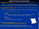bright futures scholarships