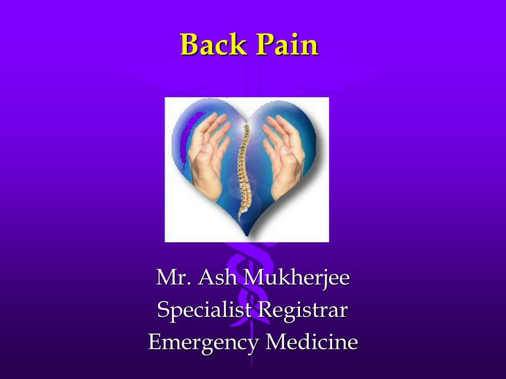back pain l.