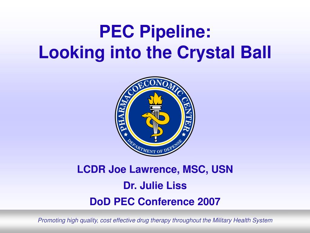 pec pipeline looking into the crystal ball l.