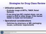 strategies for drug class review5