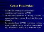 causas psicol gicas