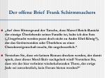 der offene brief frank schirmmachers1