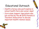educational outreach