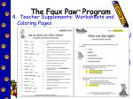 the faux paw tm program