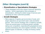 other strategies cont d2