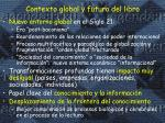 contexto global y futuro del libro
