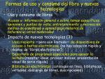 formas de uso y consumo del libro y nuevas tecnolog as2