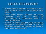 grupo secundario1