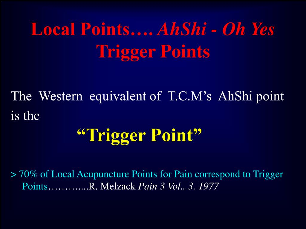 Local Points….