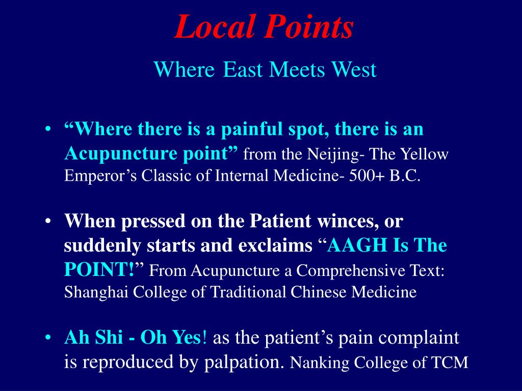 Local Points