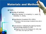 materials and methods12