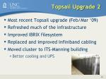 topsail upgrade 2