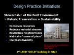 design practice initiatives33