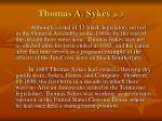 thomas a sykes p 3