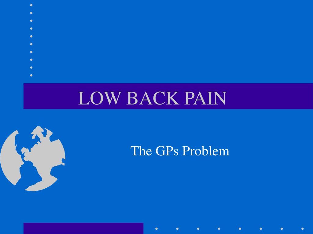 the gps problem l.