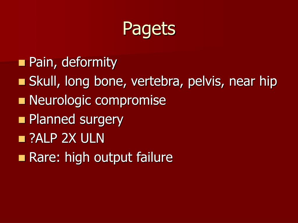 Pagets
