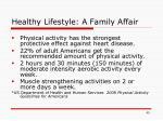 healthy lifestyle a family affair45