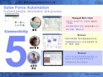 sales force automation connect people information and process