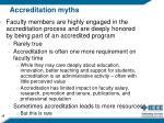 accreditation myths3