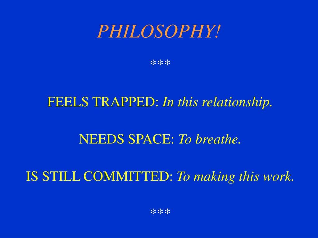 philosophy l.