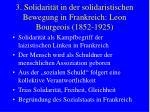 3 solidarit t in der solidaristischen bewegung in frankreich leon bourgeois 1852 19256