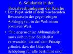 6 solidarit t in der sozialverk ndigung der kirche18