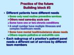 practice of the future building block 3