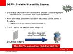dbfs scalable shared file system