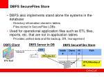 dbfs securefiles store