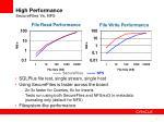 high performance securefiles vs nfs