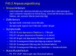 f43 2 anpassungsst rung