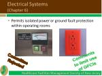 electrical systems chapter 62