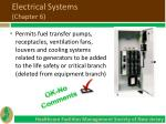 electrical systems chapter 66