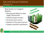 gas and vacuum systems chapter 5