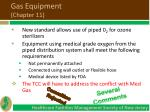 gas equipment chapter 11