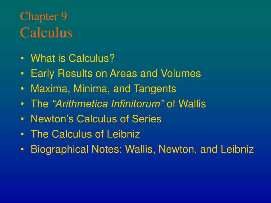 chapter 9 calculus l.