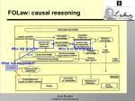 folaw causal reasoning