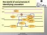the world of occurrences 5 identifying causation