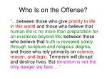 who is on the offense27