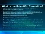 what is the scientific revolution