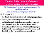 paradox 2 the rhetoric of diversity is pitted against the unfree market