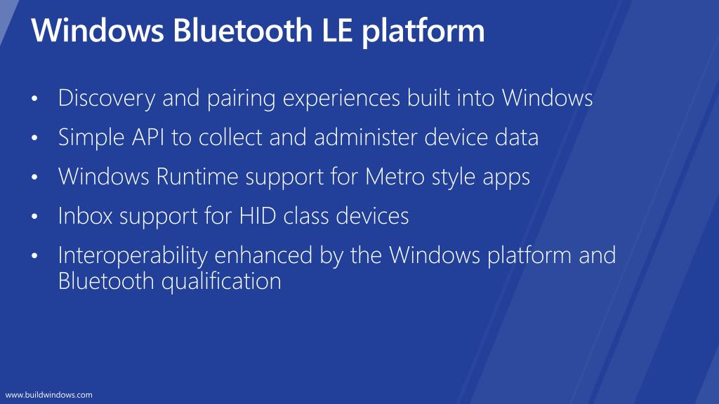 Bluetooth Le Library