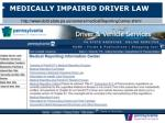 medically impaired driver law27