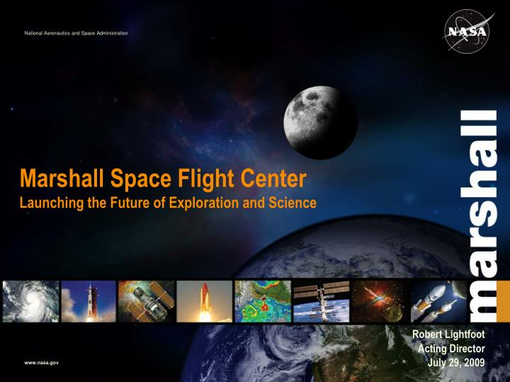 marshall space flight center launching the future of exploration and science n.